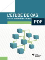 l Etude de Cas Comme Methode de Recherche 2e Edition