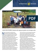 Sistema de Riego Nicaragua