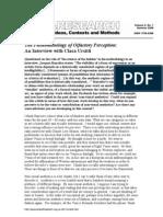 Art&Research UrsittiPhenomenologyOfOlfactoryPerception2008