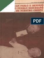 El Papa Juan Pablo II Recibe a Mons. Eduardo