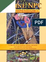 3 Line NPC Compendium