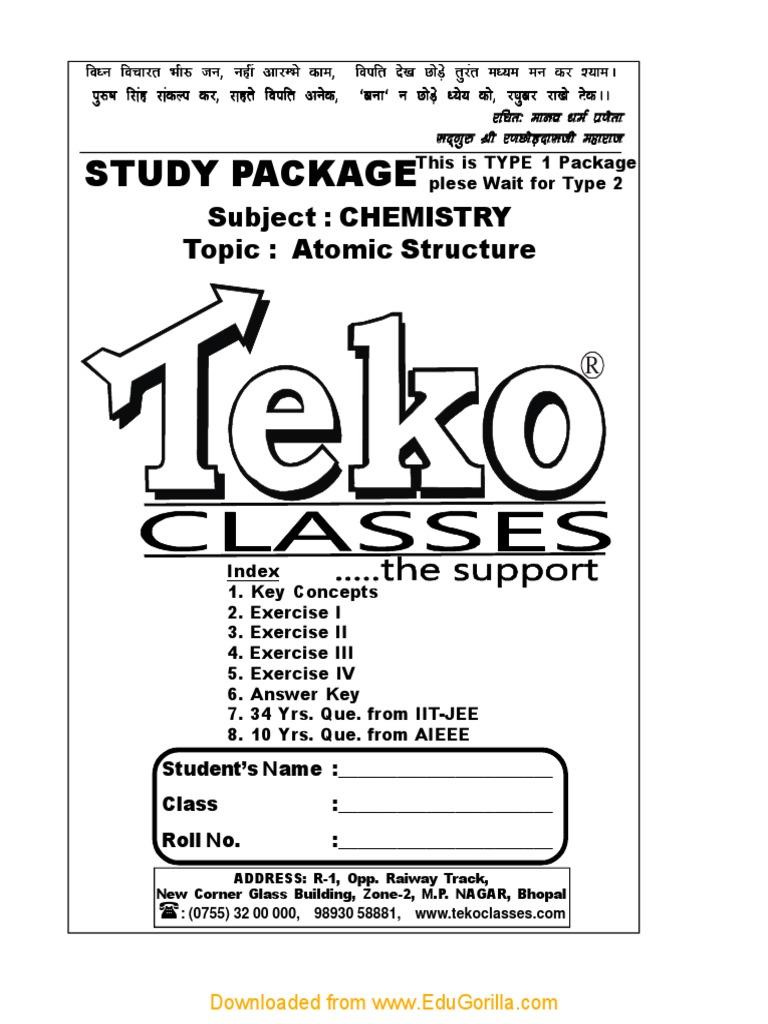 teko atomic pdf | Electron | Atoms