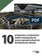 10 preguntas y respuestas al proyecto de macrogranja en Noviercas (Soria)
