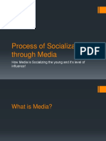 Process of Socialization Through Media