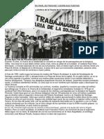 El Más Duro Rival de Pinochet Cierra Sus Puertas