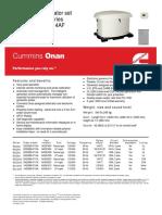 Brochure 20KW Gas Propano