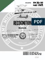 FM 30-30 Aircraft Recognition
