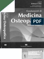 Fondamenti Medicina Osteopatia Indice