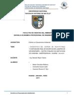 Diagnostico Del Caserio de Matarapampa Ambiental