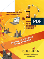 Datamining and Analytics Workshop