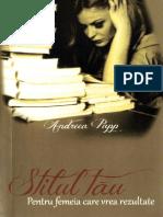 ''Stilul Tau'' de Andreea Papp