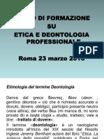 etica Deontologia Professionale