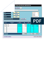 Calculadora Tributaria Excel