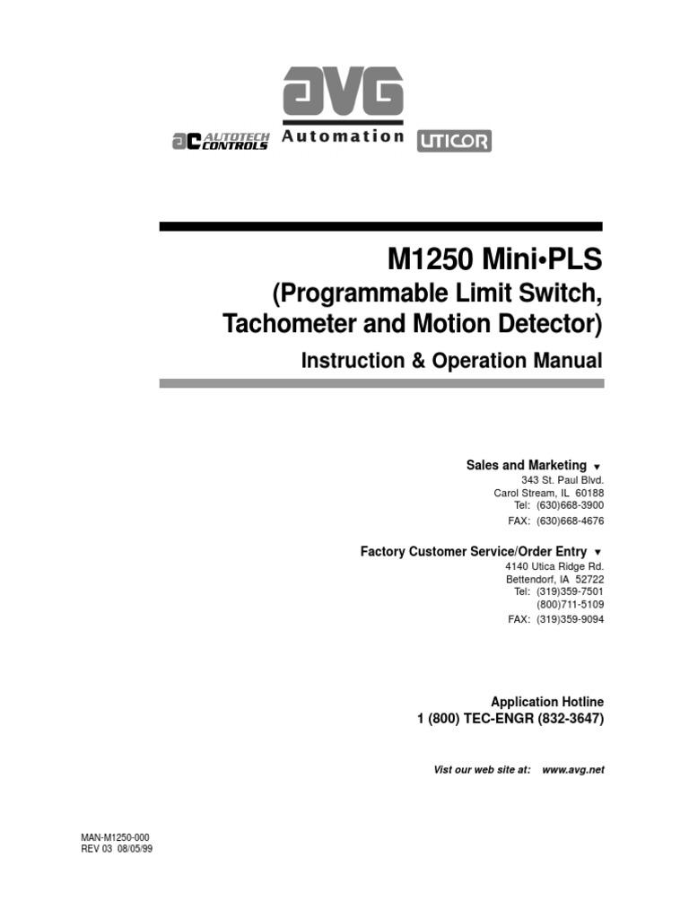 m1250 Mini Pls | Relay | Logic Gate