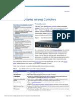 Cisco 2500 Controller Data Sheet