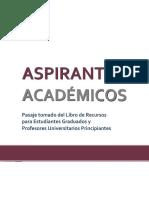 Aspirantes Academicos