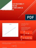 Matematica de Razones y Su Aplicación en Ejercicios