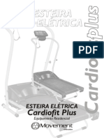 Manual Esteira Cardiofit PLUS Port