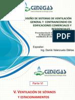 Diseño de Sistemas de Ventilacion General y Contraincendio Parte 6