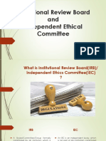 PPPT ON Institutional Review Board ETHICS COMMITTEE by sachin sharma