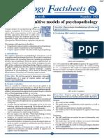 Evaluating Cognitive Models