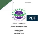10.2 Project Management Audit Report