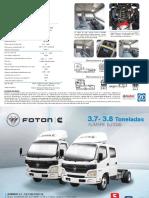Ficha Técnica - Camión Bj1049 Dc _ 3.3 Ton Euro IV