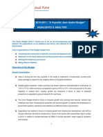 Budget 2010-11_Highlights & Analysis