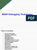 19500638 ABAP Debugging Techniques