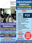 CURSO DE ACTUALIZACIÓN PEDAGÓGICA 2018