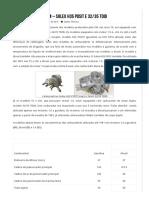 Tabela de Calibragem - Solex H35 PDSIT e 32_35 TDID
