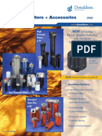 HYD100 Hydraulic Filters Accessories Catalog DONALDSON