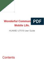 U7519 User Guide-En