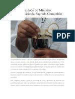 A espiritualidade do Ministro Extraordinário da Sagrada Comunhão.docx