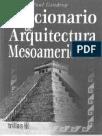 Diccionario de Arquitectura Mesoamericana- Paul Gendrop - ARQUILIBROS - AL