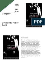 Media Studies 2 - Analysis of American Gangster