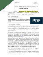 Fissore - La Reforma de Los Artículos 1001 y 1002 Del Código Civil - 2006