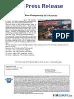 PR 8 2018 Speedway European Championship 2018 Calendar