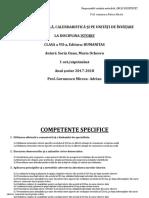 13 - Planificare Istorie - Clasa a VII a.doc