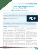 19_256Analisis-Skor HEART Untuk Prediksi Kejadian Sindrom Koroner Akut Di IGD