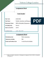 FOM Assignment Brief April 2017