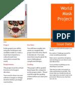 world mask project sheet