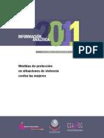 Medidas de Protección en Situaciones de Violencia Contra Las Mujeres