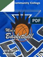 2016-17 KCC Men's Basketball Media Guide