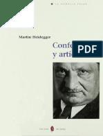 2017_09_01 Conferencias y Articulos - Heidegger, Martin