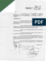 Corrientes DisCurricular Musica Res 2617 2015