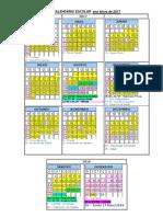 Calendario Color 17 Aprovado