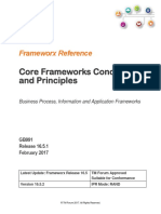 GB991 Core Frameworks Concepts and Principles R16.5.1