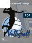 2017 KCC Women's Volleyball Media Guide