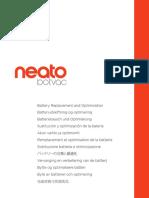 Neato Botvac Battery Instructions
